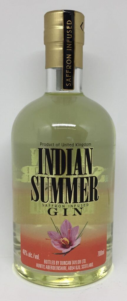 Indian Summer gin 46 %