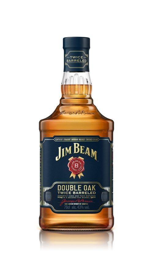 Jim Beam Double Oak Bourbon 43 %-0