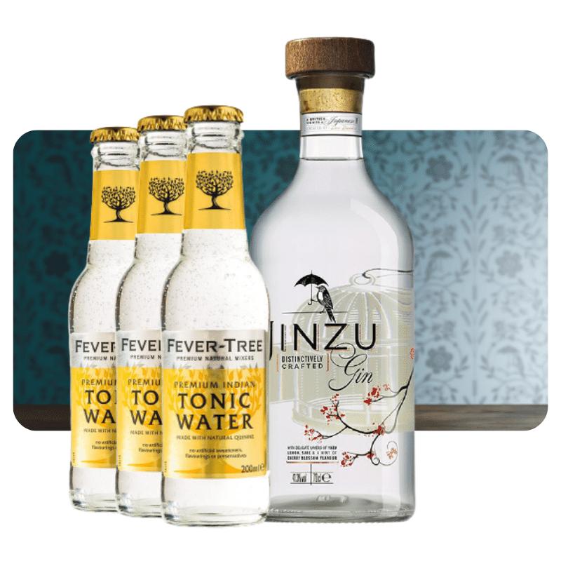 Jinzu gavepak med 2 tonic vand