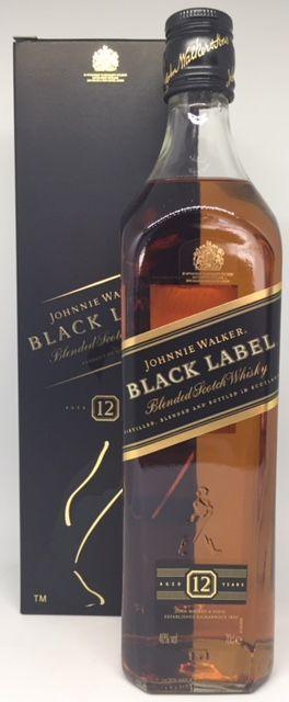 Johnnie Walker 12 Års Black Label 40 % Blended Scotch whisky