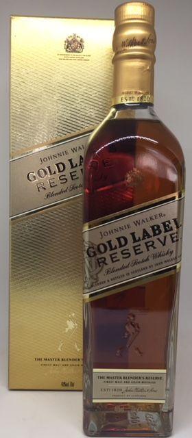 Johnnie Walker Gold Label Reserve 40 % Blended Scotch whisky