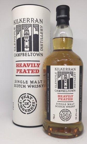 Kilkerran Heavily Peated single malt 59,3 Batch 1
