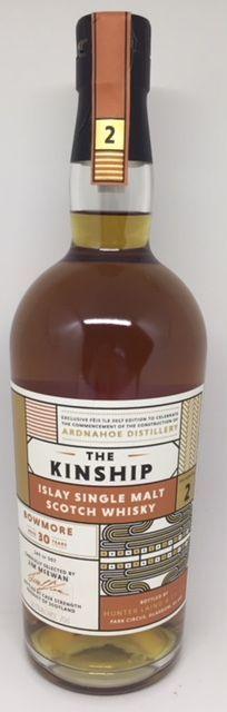 Bowmore 30 års, Kinship Islay single malt