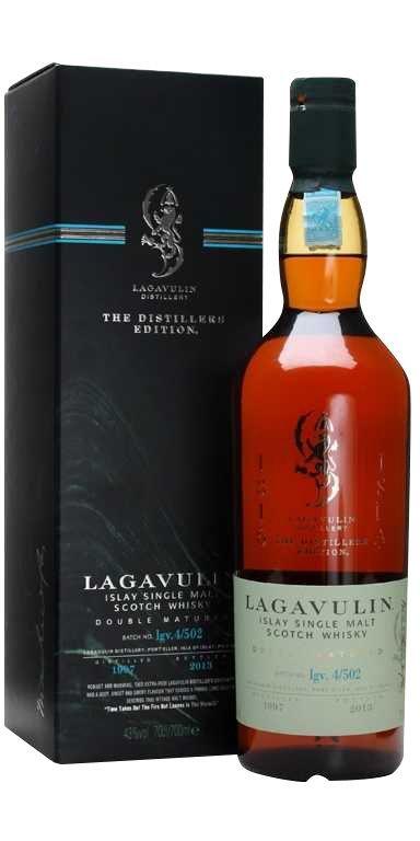 Lagavulin 1999 2015 islay single malt Double matured