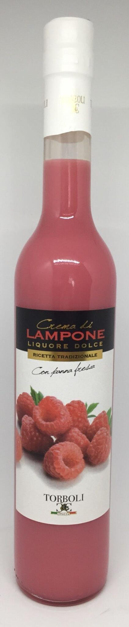 Hindbær likør cremet fra Torboli Italien