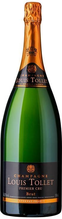 LOUIS TOLLET PREMIER CRU Brut Magnum-0