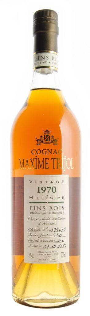 Cognac Vintage 1970 Fins Bois Maxime Trijol