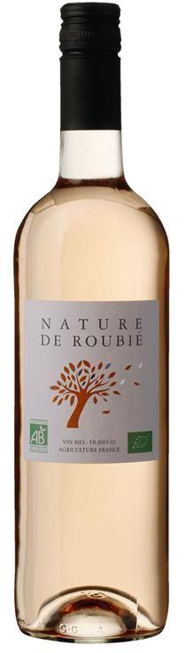 Rose Syrah og Grenache Nature de Rouble-0