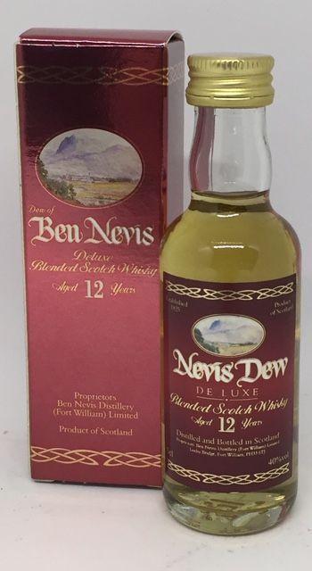 Ben Nevis 12 års deluxe blended 40 % 5 cl.