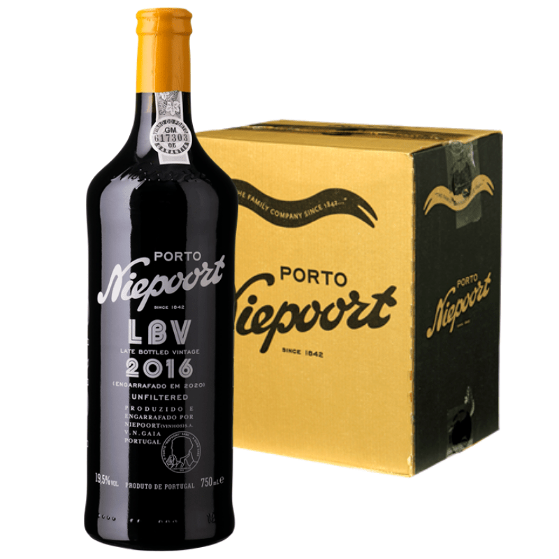 Niepoort LBV 2016 - kasse med 6 flasker 75cl.-0