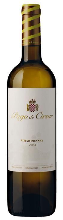 Chardonnay Pago De Cirsus Spanien