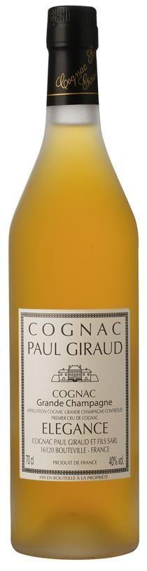 Cognac Grande Champagne Elegance Paul Giraud