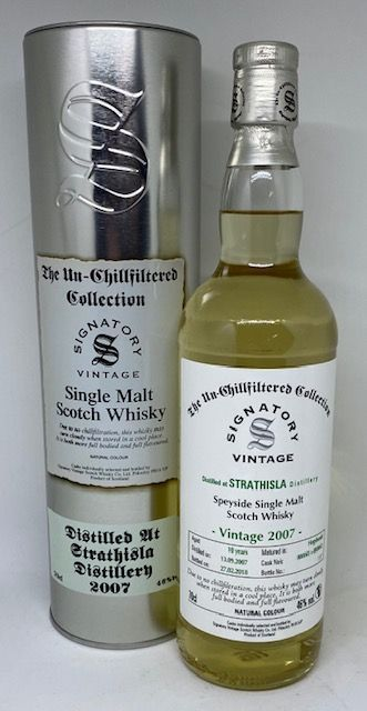 Strathisla Vintage 2007 46 % Signatory