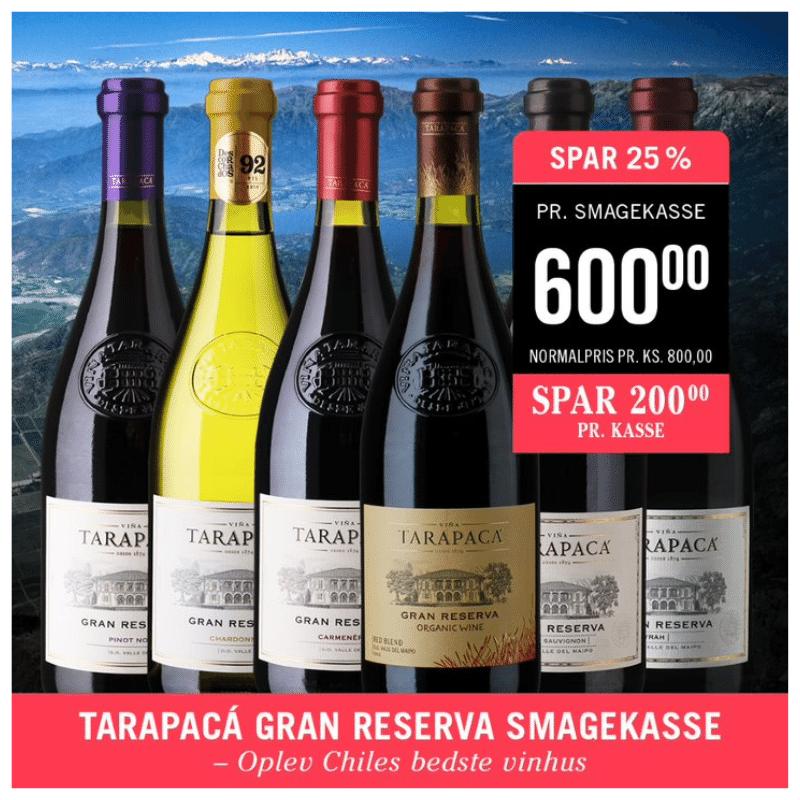 Tarapaca 6 vine Gran Reserve serie