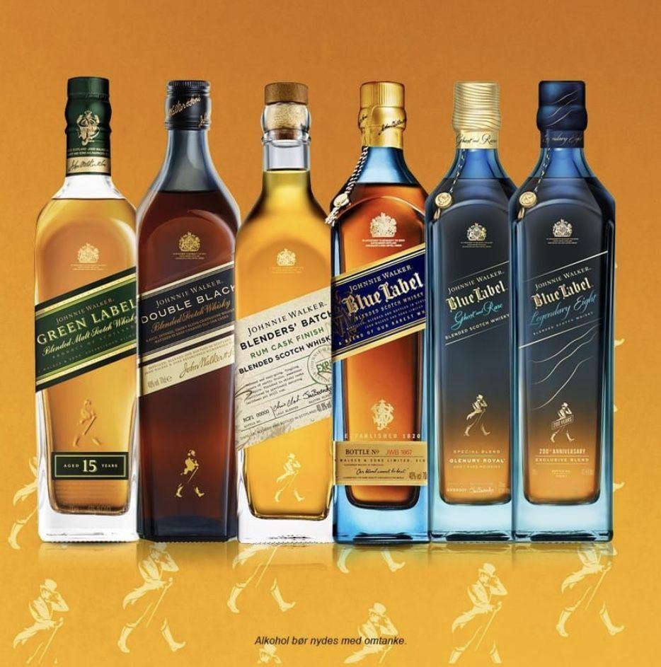 Johnnie Walker 200 års fødselsdags smagning