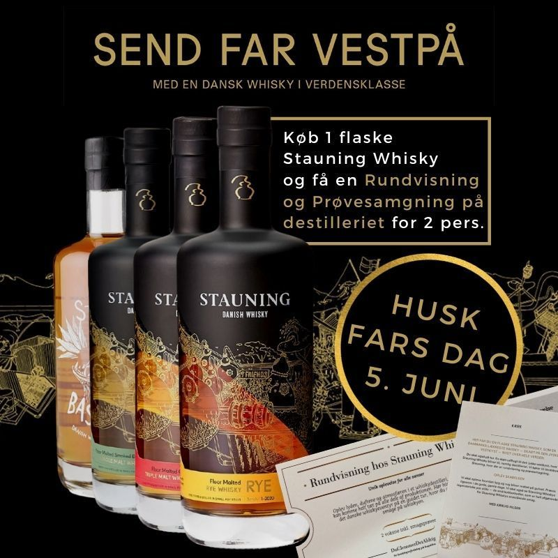 STAUNING - Send Far Vest På-0
