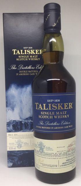 Talisker Double matured Amoroso cask 2008 - 2018