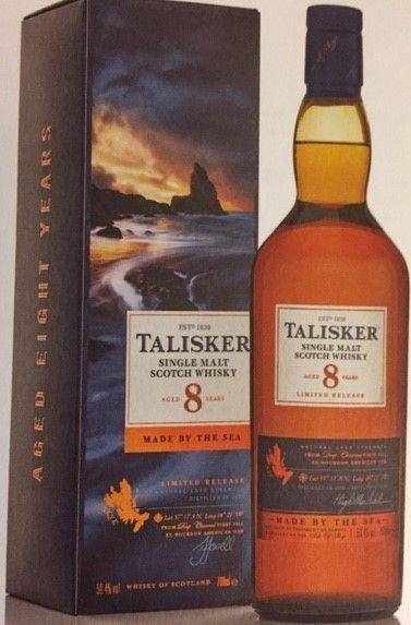 Talisker 8 Års 59,4 % Limited Release
