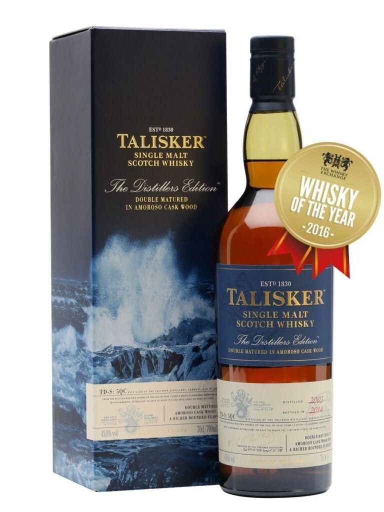 Talisker Single malt double matured in Amoroso cask 45,8 %
