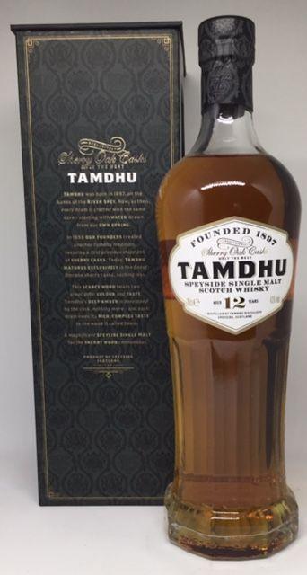 Tamdhu 12 års Speyside single malt