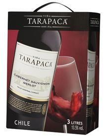 TARAPACA Cab. Sauvignon/Merlot, Bag-in-box-0