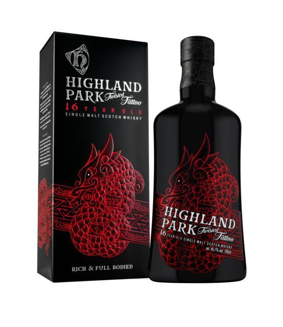 Highland Park 16 års Twisted Tattoo