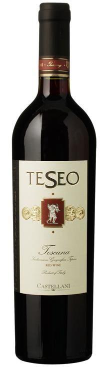 Teseo Super Toscana Castellani 12,5 %