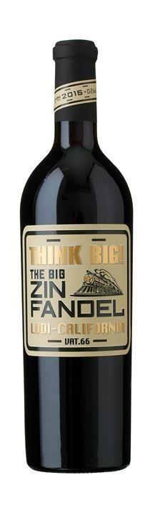Zinfandel Think Big Lodi Californien