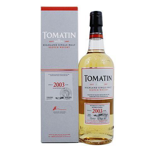 Tomatin Single 2003 cask 50 %
