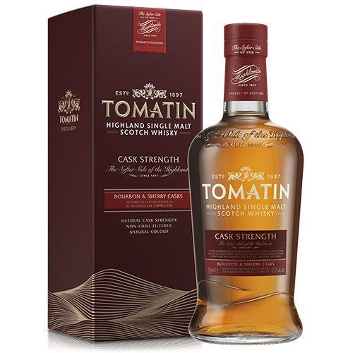Tomatin Cask Strenght 57,5 % Bourbon & Sherry