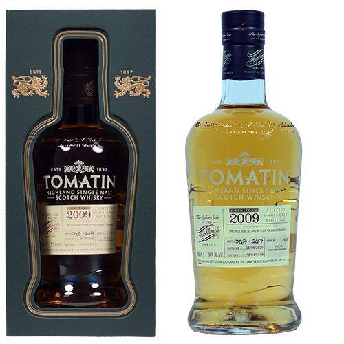 Tomatin 2009 single cask bottling 2009 - 2019