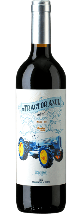 Mi Tractor Azul Tinta de Toro