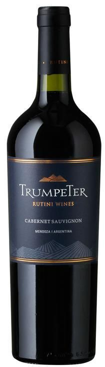 Trumpeter Cabernet Sauvignon Rutini wines