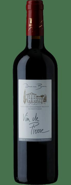 Vin de Pierre Rouge, Pays du Mont Caume