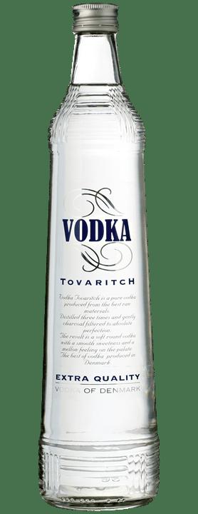 Vodka Tovaritch, produceret i Danmark